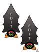 Free Halloween Name Tags & Locker Labels (Editable)
