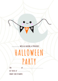 Free Halloween Party Invitation - Editable