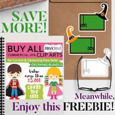 Free Halloween School Clip Art and Lifetime Access Sale Info