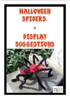 Halloween Spiders to Make - FREE