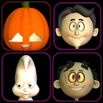 Free Halloween Ten Frame Clip Art from Away With The Pixels