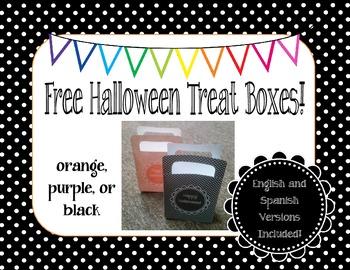Free Halloween Treat Boxes!!