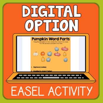 Free Halloween Word Activity