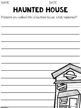 Free Halloween Writing