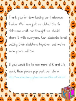 Free Halloween craft
