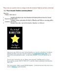 Free Hamilton the Musical Lesson Plan