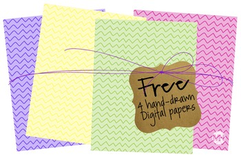 Free Hand-Drawn FUN papers!