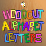Free Hand Drawn Woodcut Alphabet ClipArt