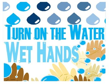 Hand Washing, Step by Step, Elementary, Bathroom, Procedures