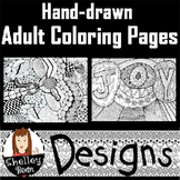 Free Hand-drawn Adult Coloring Pages