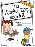 Free Handwriting Booklet Title Page