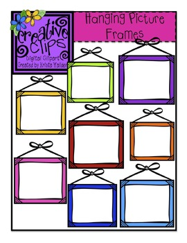 {Free} Hanging Picture Frames {Creative Clips Digital Clipart}