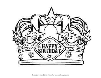 Free Happy Birthday Crown