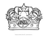Free Happy Birthday Crown