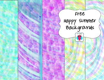 Free Happy Summer Backgrounds