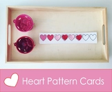Free Heart Pattern Cards