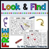 Free Hidden Picture Activities