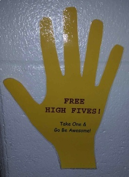 Free High Five Kid President Poster Motivation