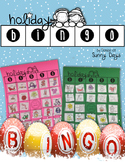Free Holiday Bingo Game