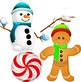 Free Holiday Clip Art Set