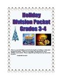 Free Holiday Division Packet  Grades 3-4