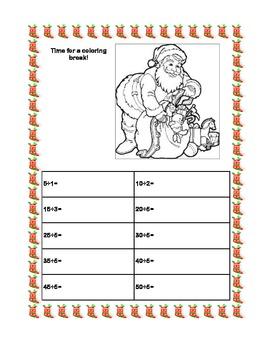 Free Holiday Division Packet  Grades 3-4