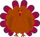 Free Holiday Turkey Clip Art from LilyVale Learning