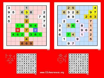 Free Holiday/Christmas Sudoku Page