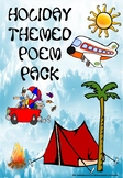Free Holiday Themed Poem Pack