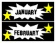 Free Hollywood Calendar/ Labels