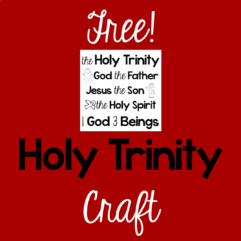 Free!  Holy Trinity Craft
