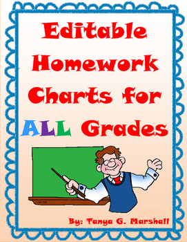 FREE Homework Chart