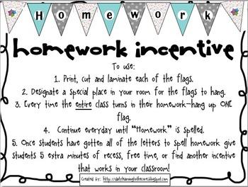 Homework Incentive