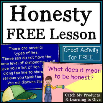 Free Honesty Lesson for Promethean Board Use