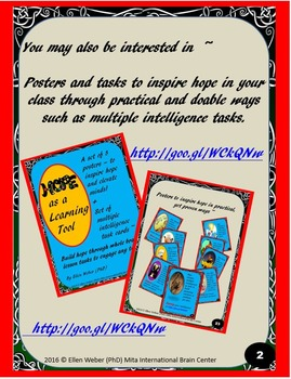 Free Hope Poster - Lifeline Adventures for Upper Grades