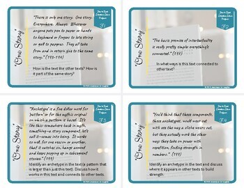 Free How to Read Literature Like a Professor AP Lit Task Cards