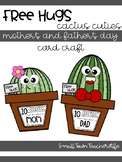 Free Hugs >>> Cactus Cuties Mother's and Father's Day Card Craft