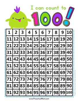 Free Hundreds Chart