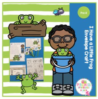 Free I Have a Little Frog Envelope Craft