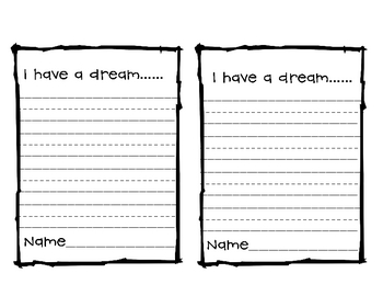 A dream essay writing