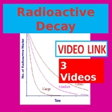 Radioactive Decay, Half-Life, and Nuclear Reactions Video Unit LINKS