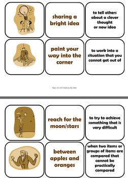 Free Idioms Mini Lesson