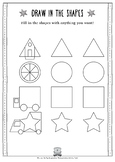 Free Imagination Activity Sheet from our Transportation Book