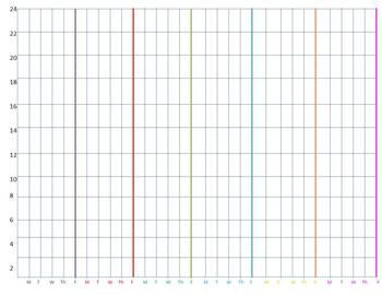 Free Individual Behavior Chart and Data Graph