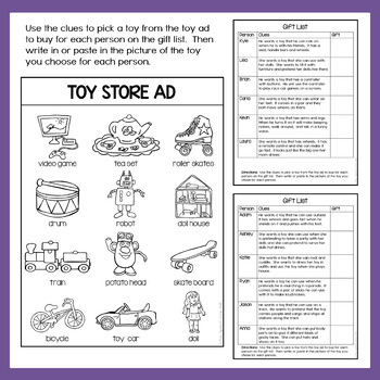 Free Inferencing Activity