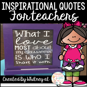 Free Inspirational Quotes for Teachers
