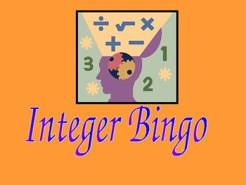 Free Integer Bingo