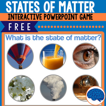 Free Interactive Game: Which state of matter is each object in?