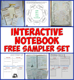 Free Interactive Notebook for World and US History Sampler Pack