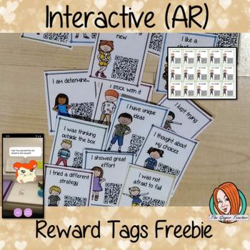 Free Interactive Reward Tags Set of 2 (Brag Tags)